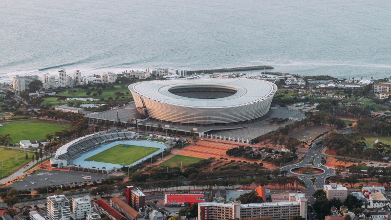 Cape Town CBD Courtesy of Leo Moko Unsplash