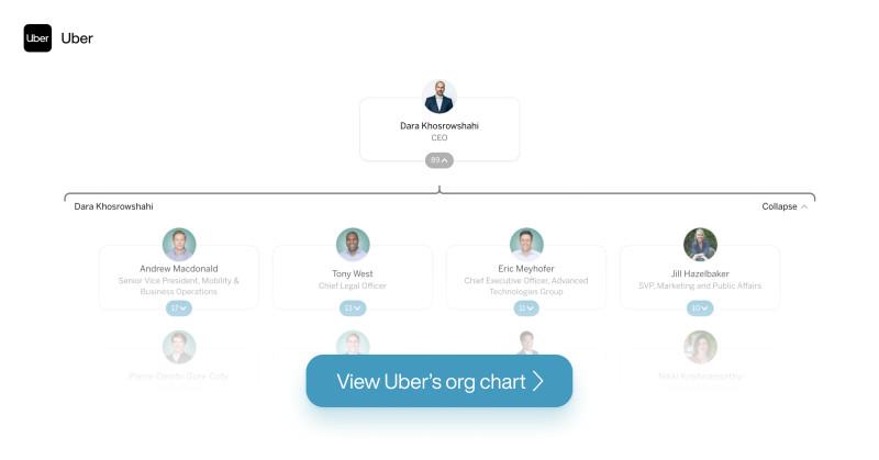 Uber org chart