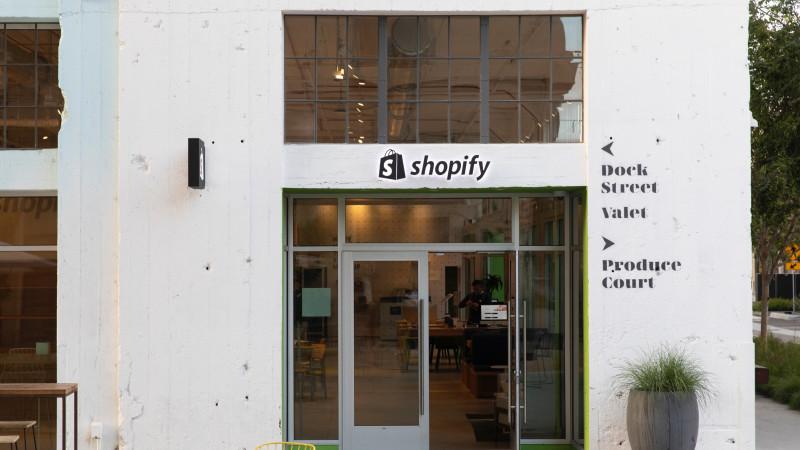 Shopify LA Exterior