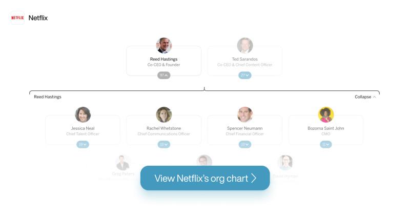Netflix Org Chart