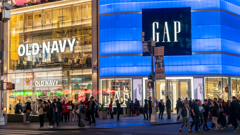 The Gap and Old Navy