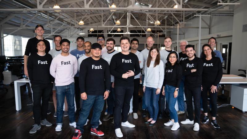 Fast team at Fast HQ