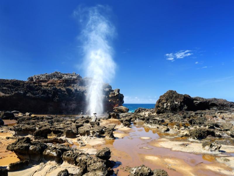 Hawaii blowhole