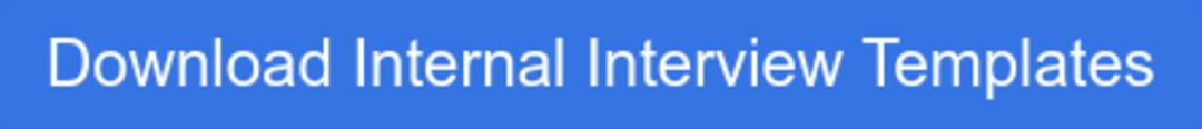 Download Internal Interview Templates