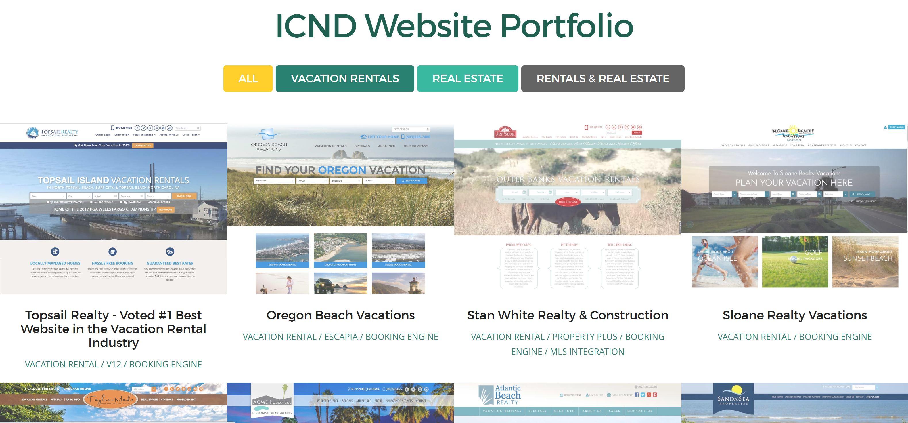 Intercoastal Net Designs Portfolio