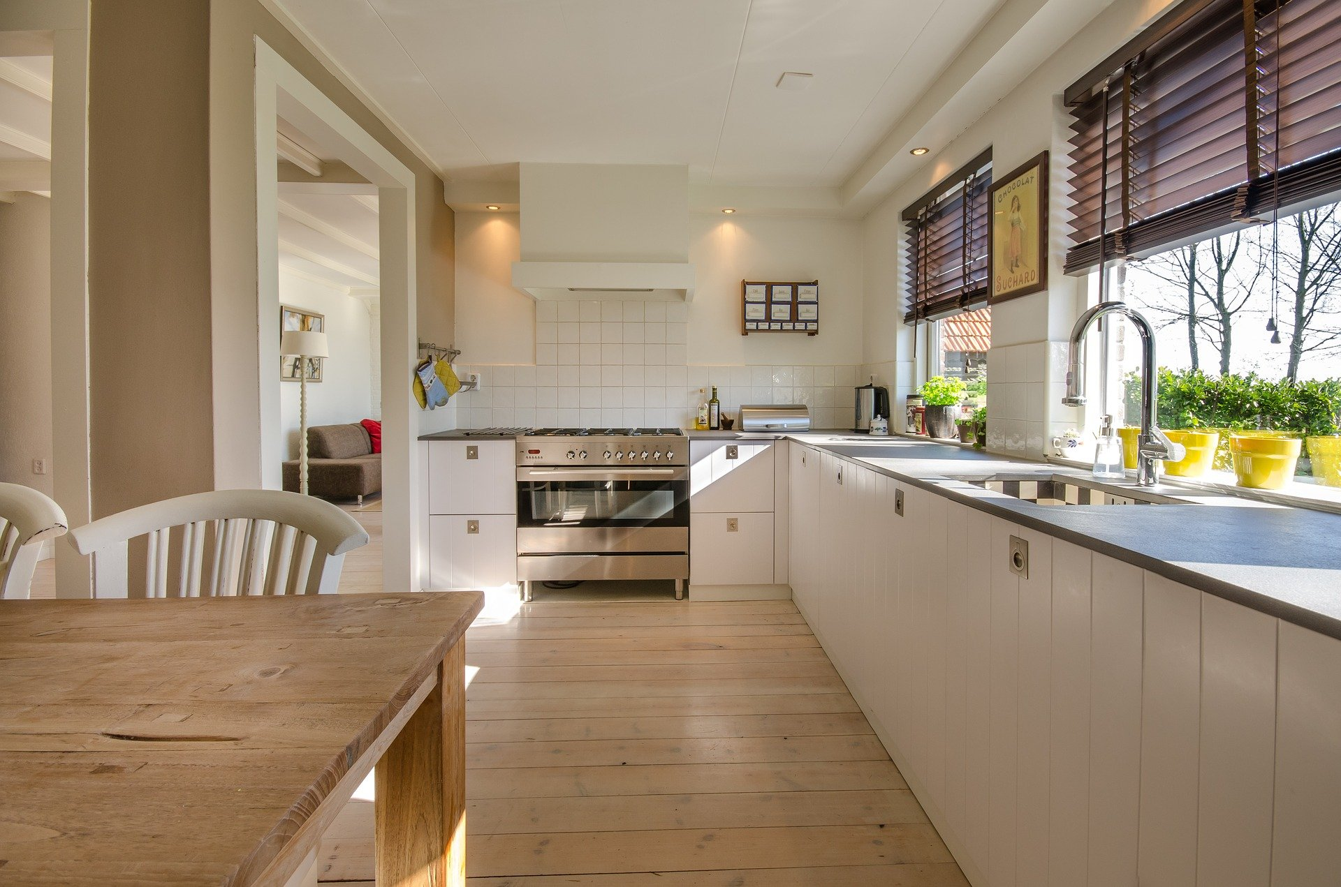 Vacation rental kitchen cleanliness