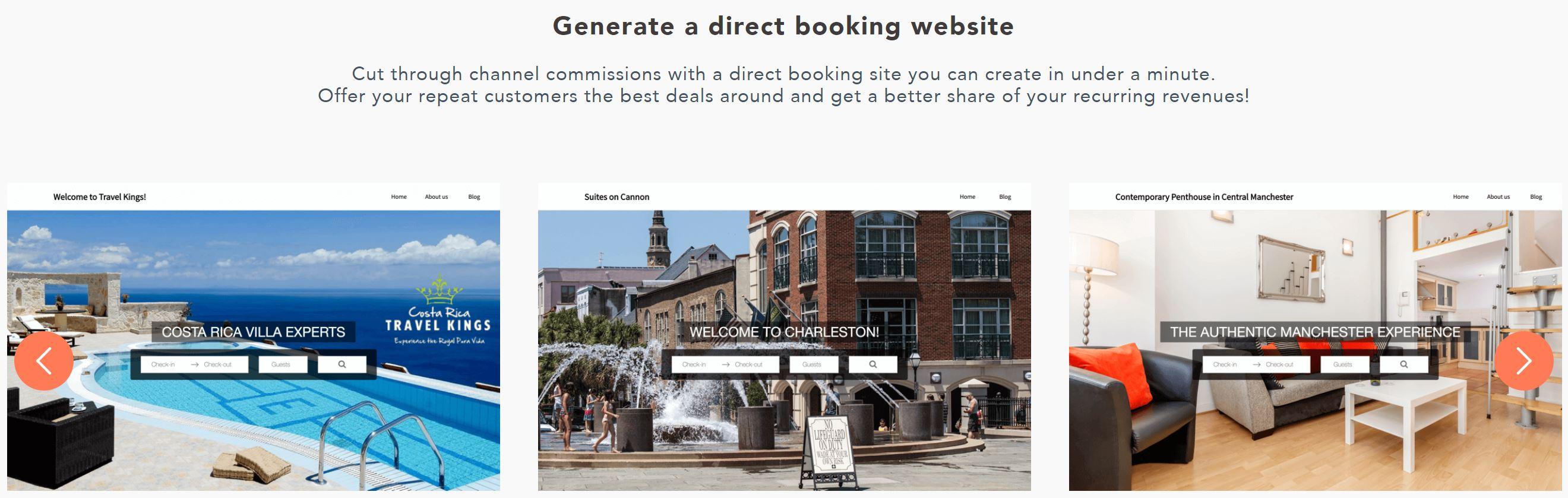Hostaway Template Direct Booking Websites