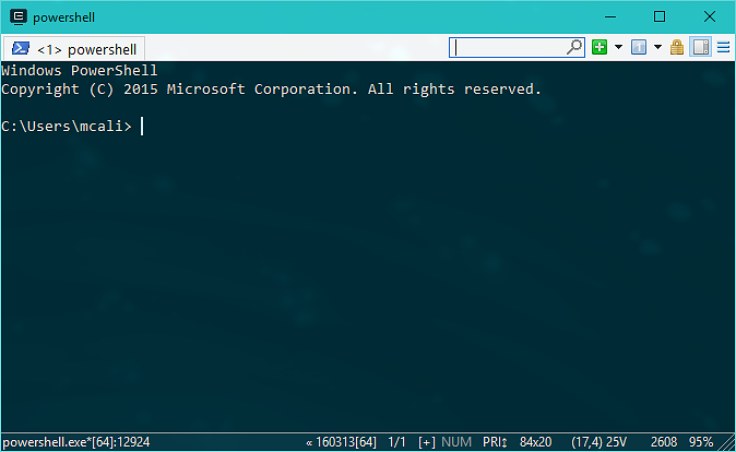 A Saner Windows Command Line - Part 2 — Futurice