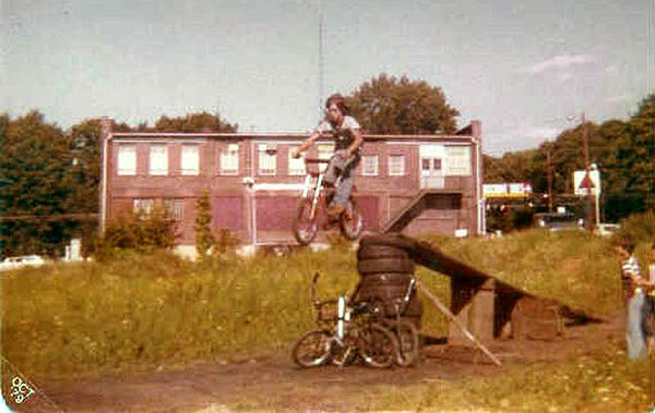 I always wanted to be Evel Knievel, he was every kid's hero in the 70's