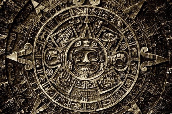 Ancient Aztec/Mayan calendar