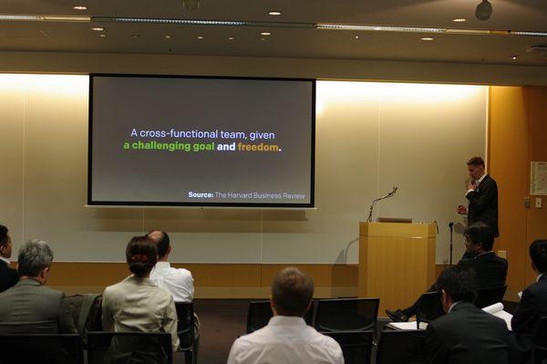 Aki Saarinen explaining the secret of Japanese innovation back in the days.