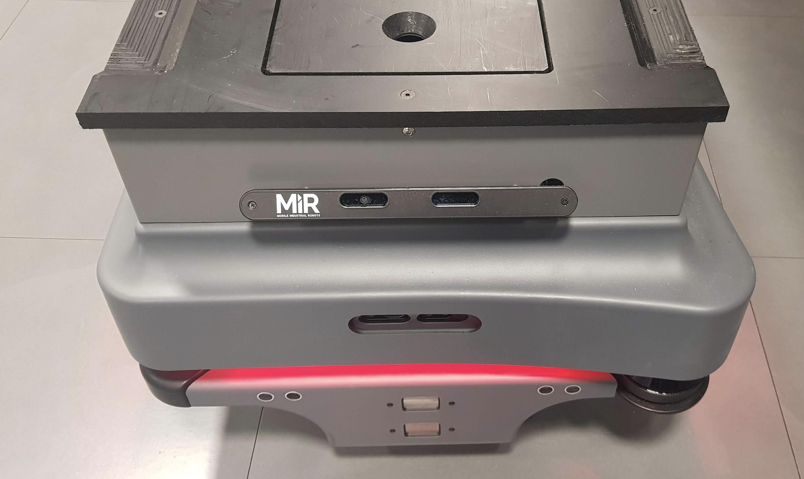 Adding social features to an MiR autonomous mobile robot — Futurice