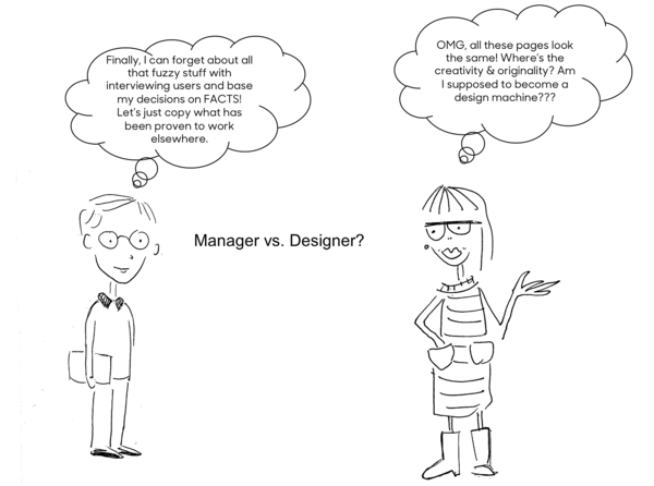 Manager and designer thoughts