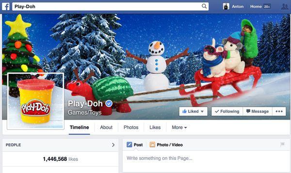 Play-Doh Facebook