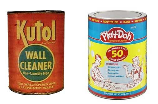 From wall cleaner to kids toy