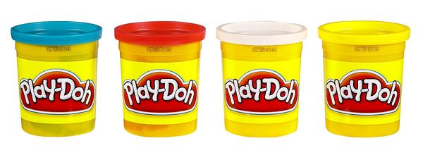 Play-Doh - whatever you do don't put it in your mouth