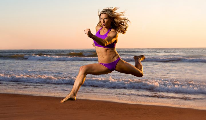 Heidi Moneymaker beach fitness