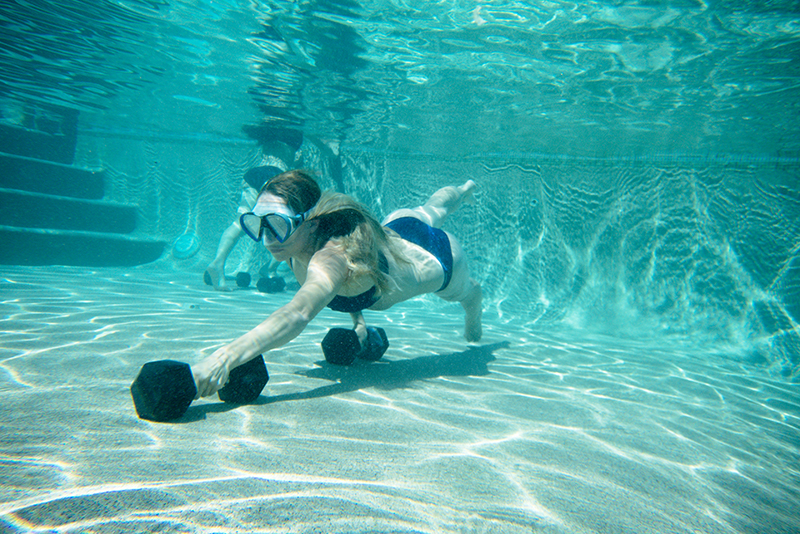XPT underwater weight training