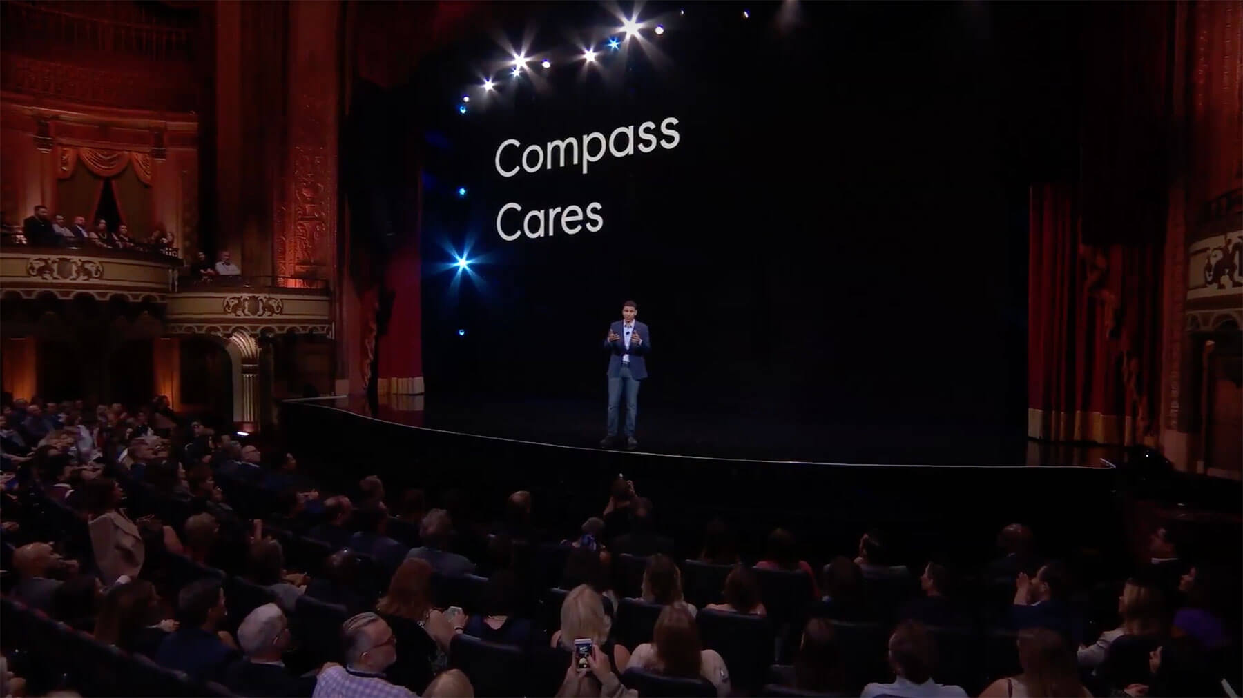 Robert Reffkin announces Compass Cares