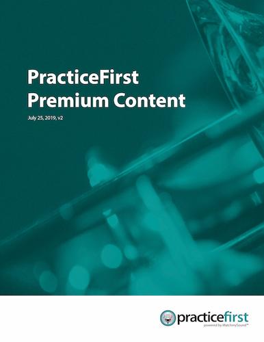 PracticeFirst Premium Content Catalog