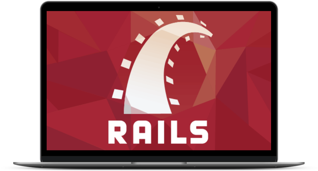 Ruby-on-rails-laptop