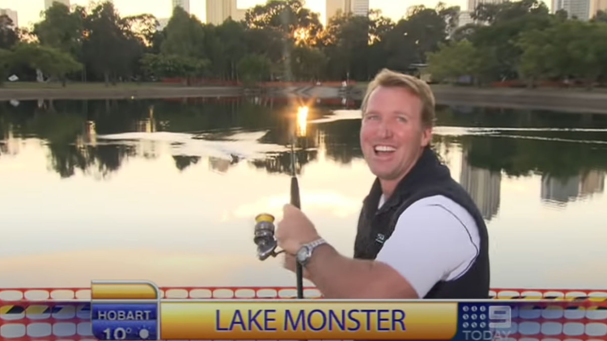 Video: Morning Show Fishing Segment Goes Terribly Wrong