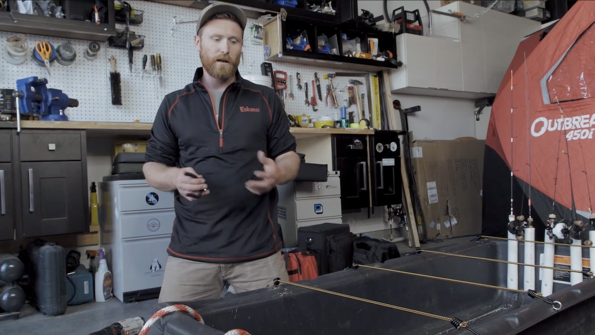 Video: How to Trick Out Your Ice Fishing Sled