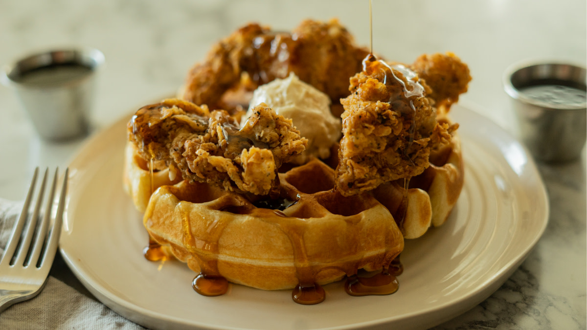 Fried Pheasant and Waffles Recipe