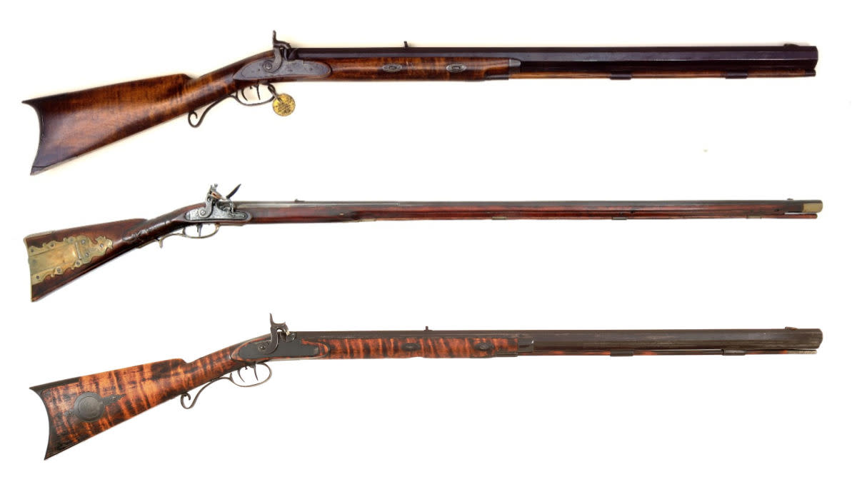 The Guns of the American Mountain Man
