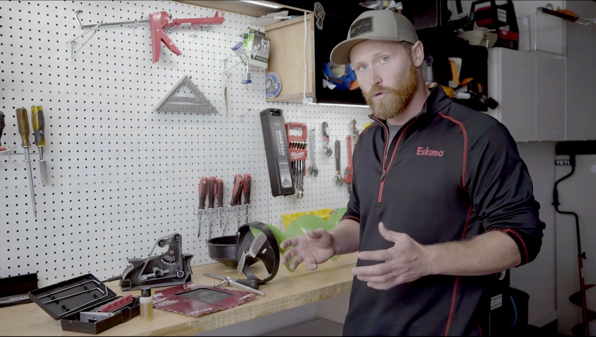 Video: How to Sharpen Ice Auger Blades
