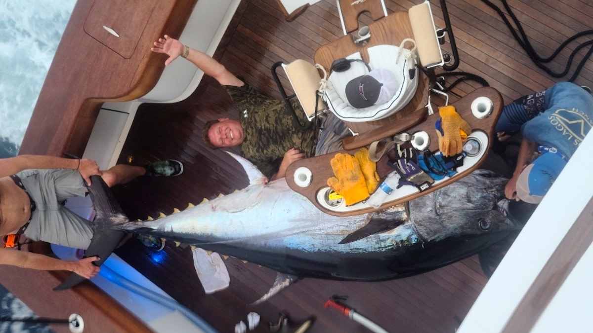 Photos: Texas Anglers Land State Record 10-Foot Bluefin Tuna