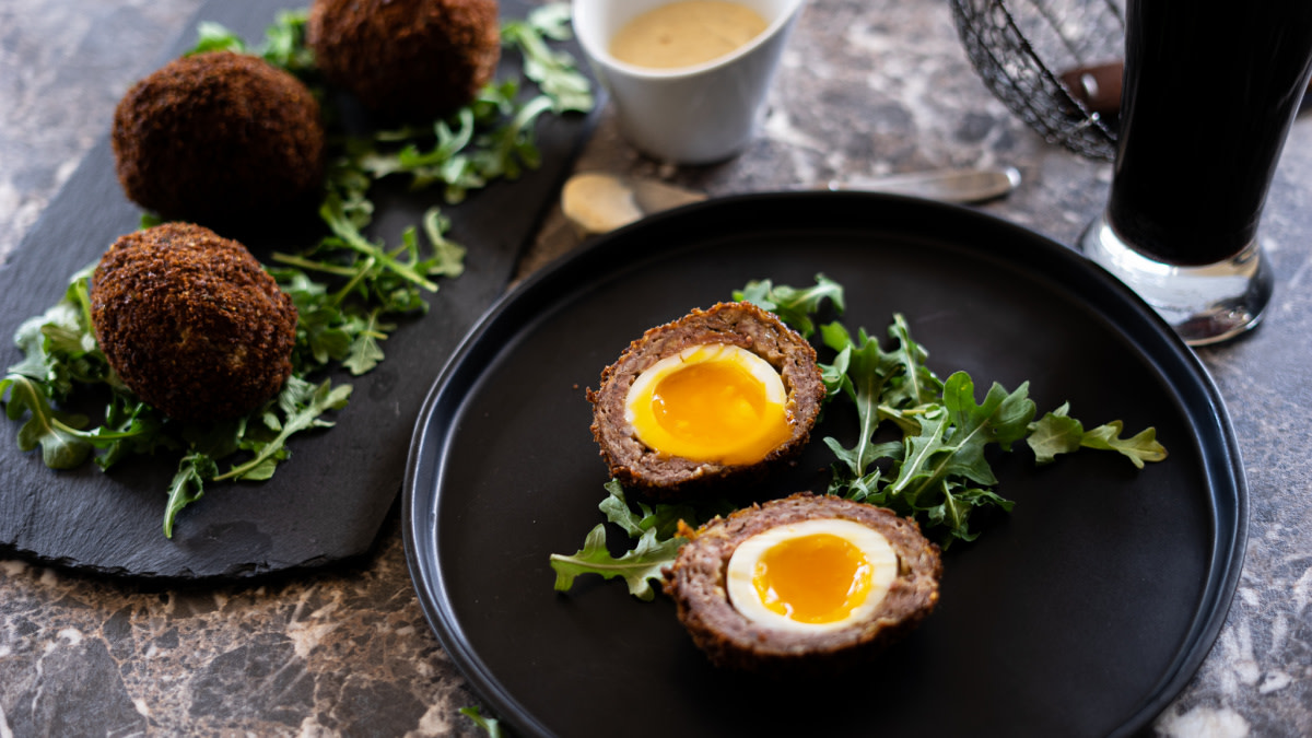 Venison Scotch Eggs Recipe