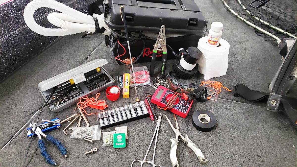 Don't Forget the Plugs: Essential Tools and Parts for Every Boat