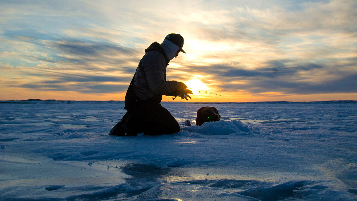 First Ice: Early Hard-Water Fishing Safety
