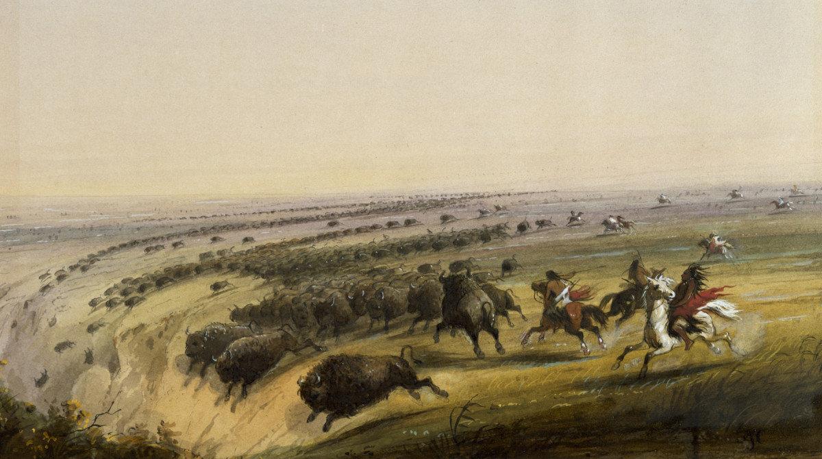 Barbecues of Buffalo Jumps Past