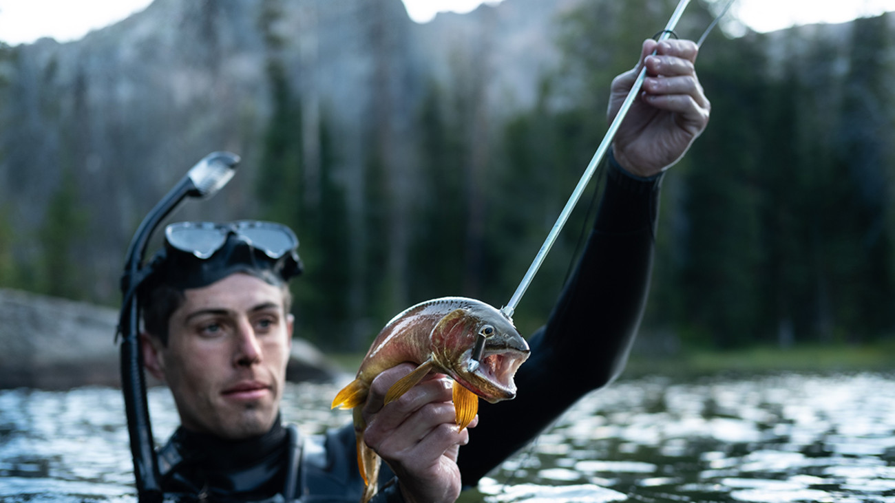 One Man's Quest to Spear and Eat Alpine Trout