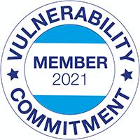 Vulnerability Commitment Logo