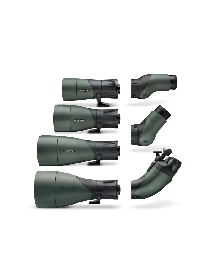 The ATX/STX/BTX spotting scopes with different eyepiece and objective modules: The new modular design offers previously unimagined flexibility