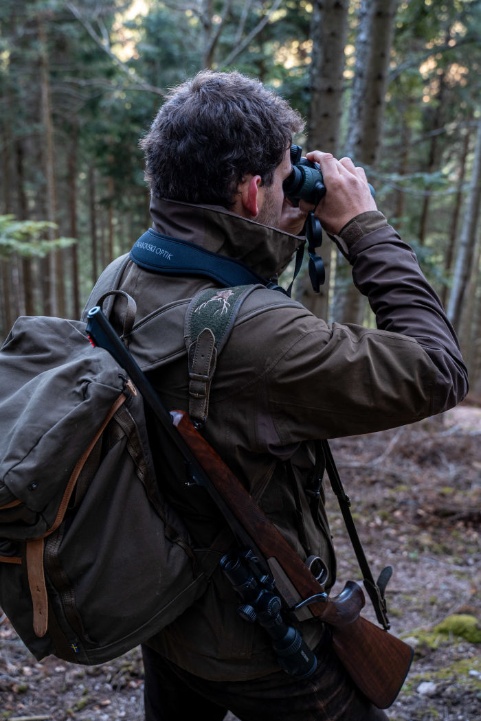 Nemrod -  French wilderness on your plate - Edouard on the hunt in the Alsatian forests