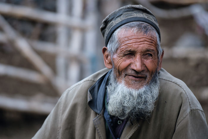 New perspectives – Tajikistan old man