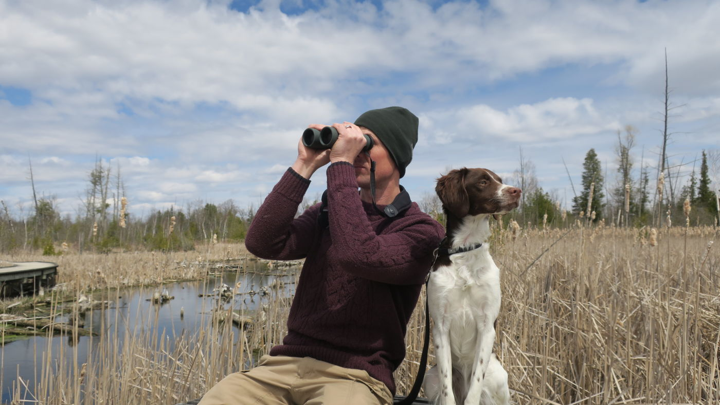 James Lees, Nature Guide and Conservation Ranger in Ontario, Canada, was one of the first to test our new NL Pure binoculars.