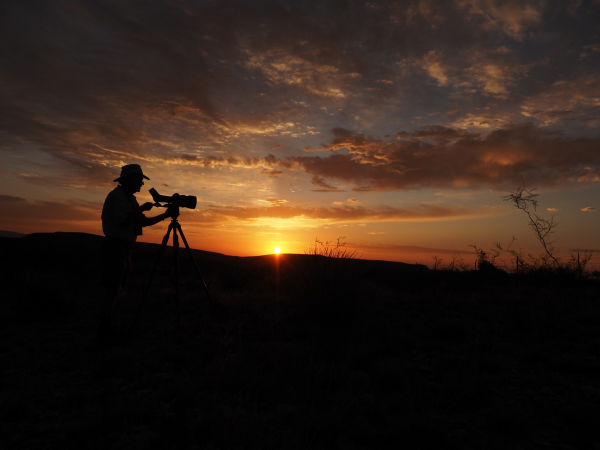 The 115-mm objective module in Texas 2/3 – birding at Guadalupe Mountains National Park - Joel Simon and Clay Taylor Dawn arrives, and the bird songs ensue.