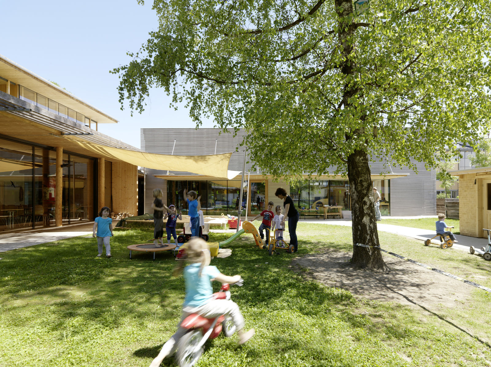 "In 2008 the company kindergarten ""OptikS Wichtelwald"" opened its doors"
