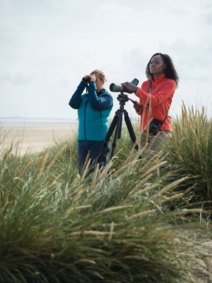 Why everyone can become a great birder - SWAROVSKI OPTIK CL Companion, ATX 65, Birders, Titchwell