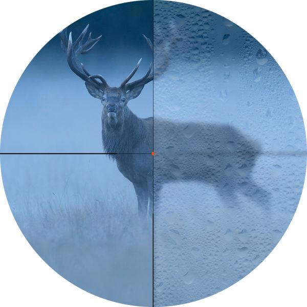 K21 Hirsch GettyImages-949143512 Absehen Vergleich RGB - AFL - Hirsch - stag - fog - reticle