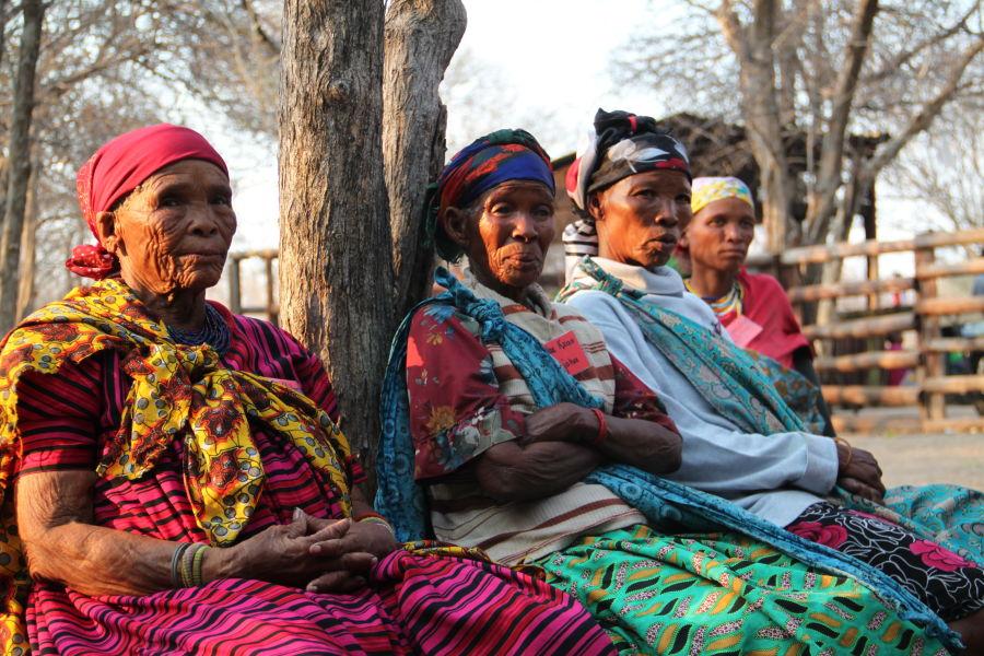 Namibia - Sustainable hunting in the Nyae Nyae Conservancy H/- SAN COMMUNITY, PHOTO: NNDFN.ORG