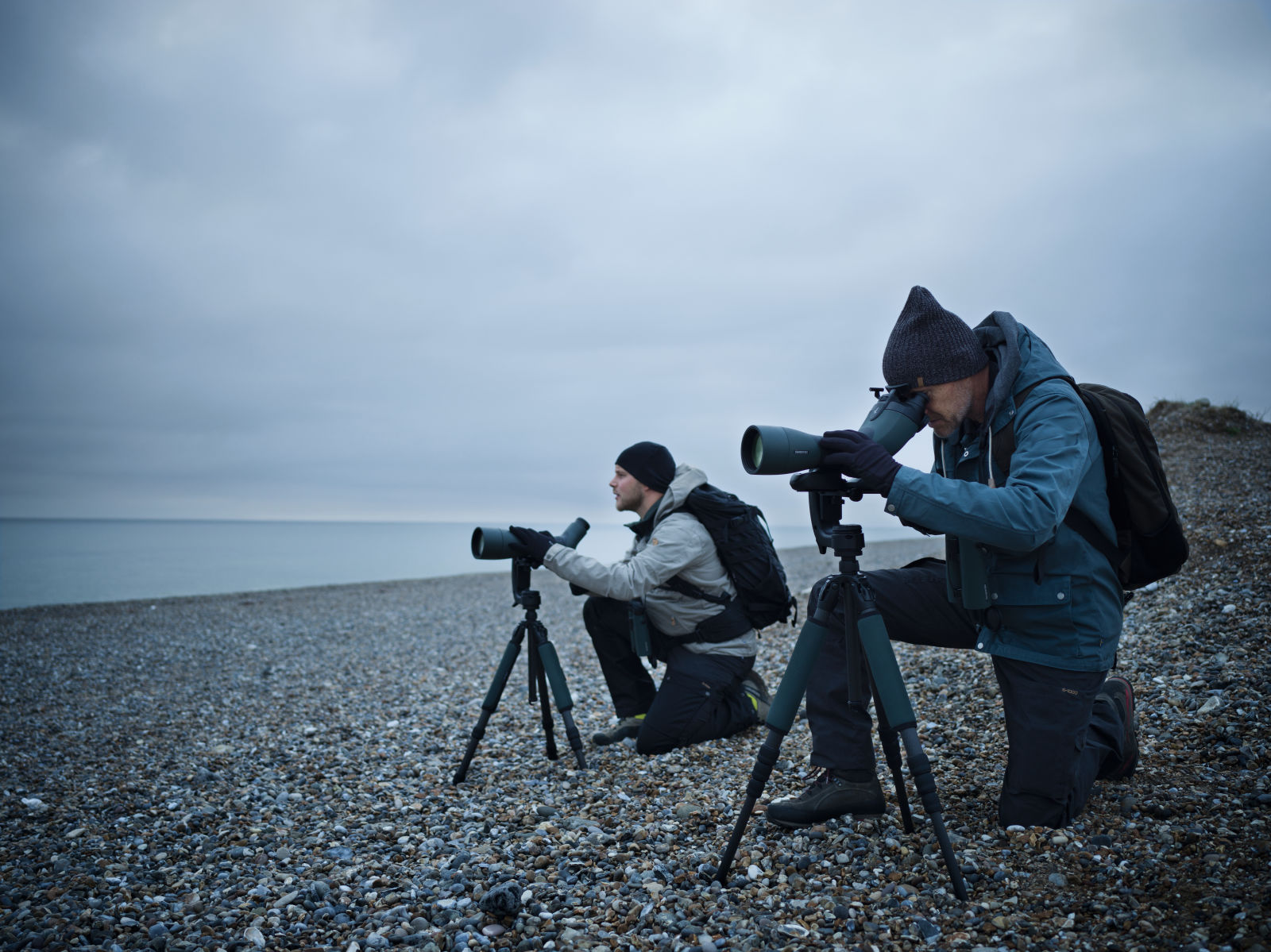 Birding at the coast with the ATX/STX/BTX spotting scopes.