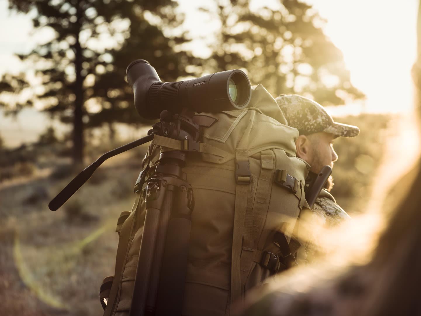 ATX65 spotting scope CCT CTH hunter walking in the light ID 1219744