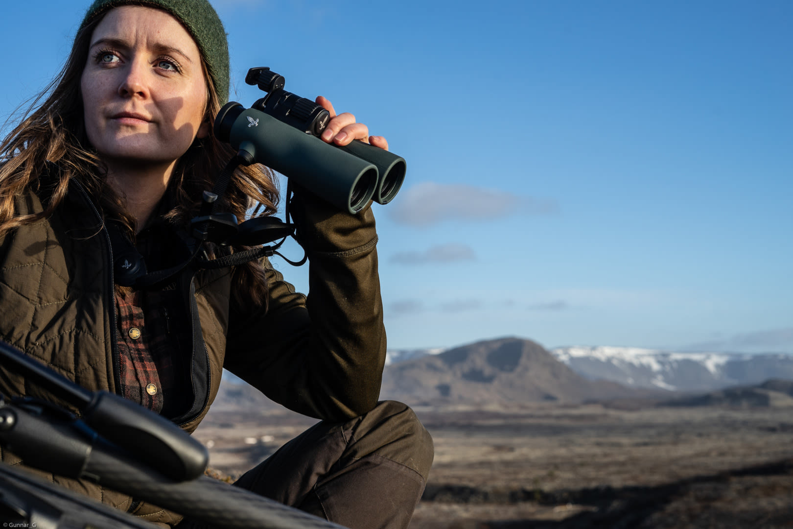 One with nature: Icelandic experiences with the SWAROVSKI OPTIK NL Pure, Alma close-up - Photo by gunnar gudmundsson