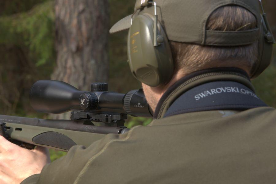 Hunting red deer in Poland - z8i in use